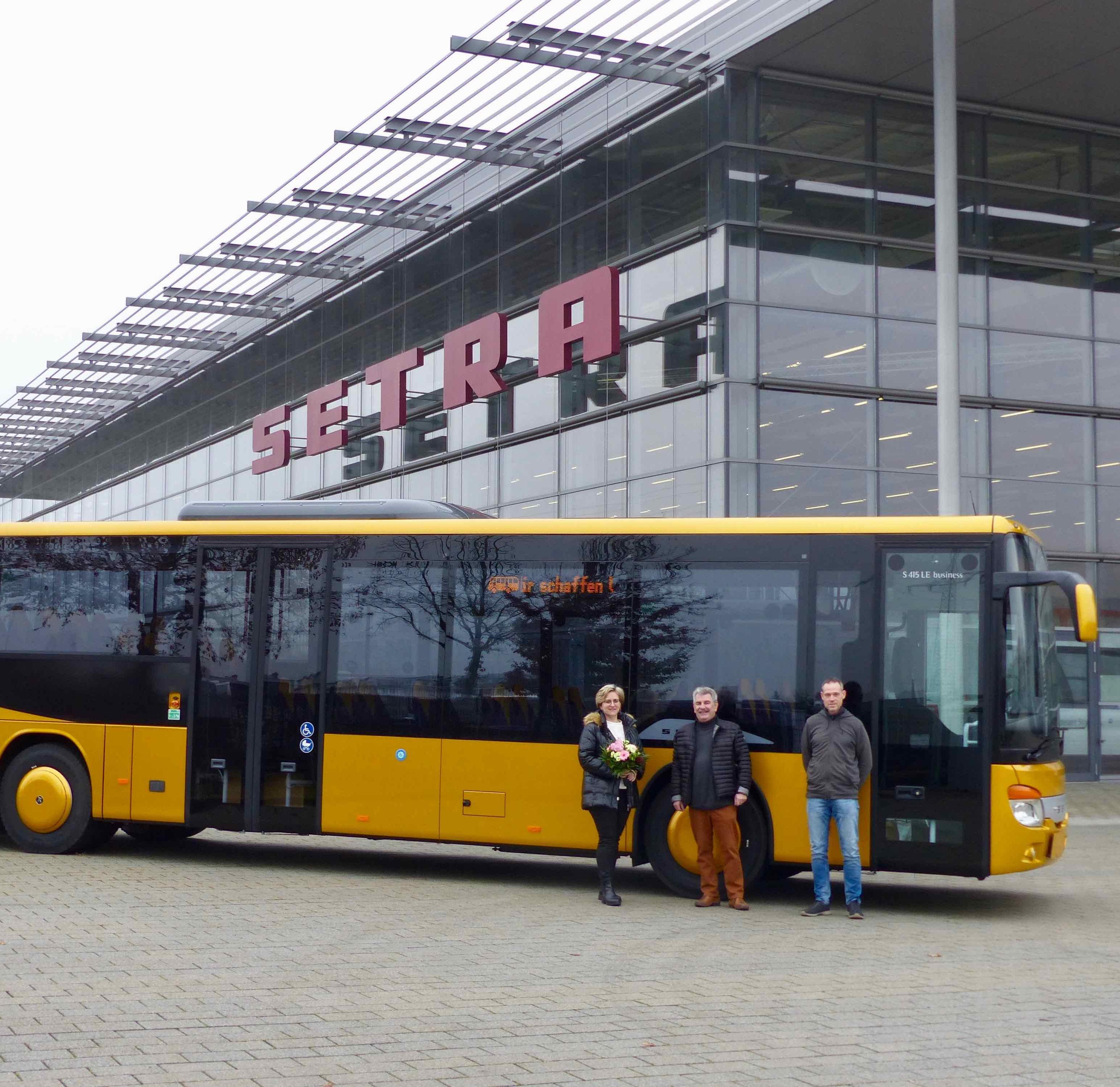 Neuer Setra für Omnibusbetrieb in Mellrichstadt