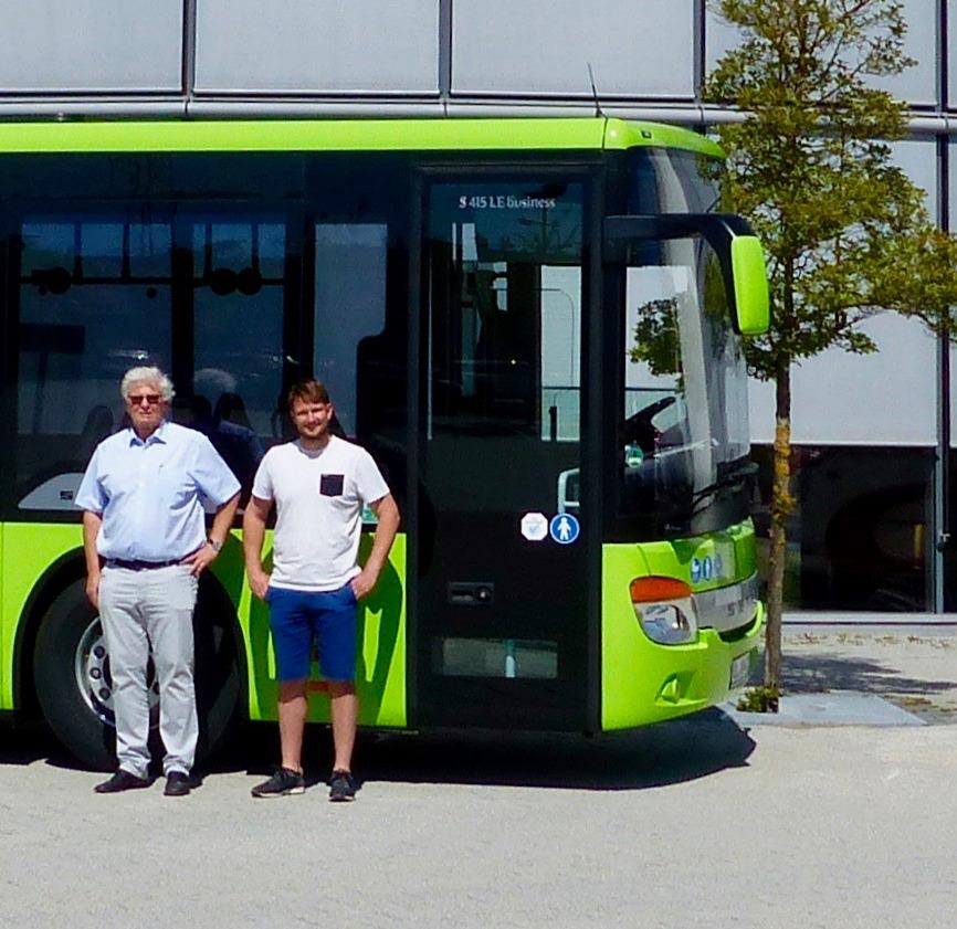 Auslieferung Omnibusverkehr Harald Münzing