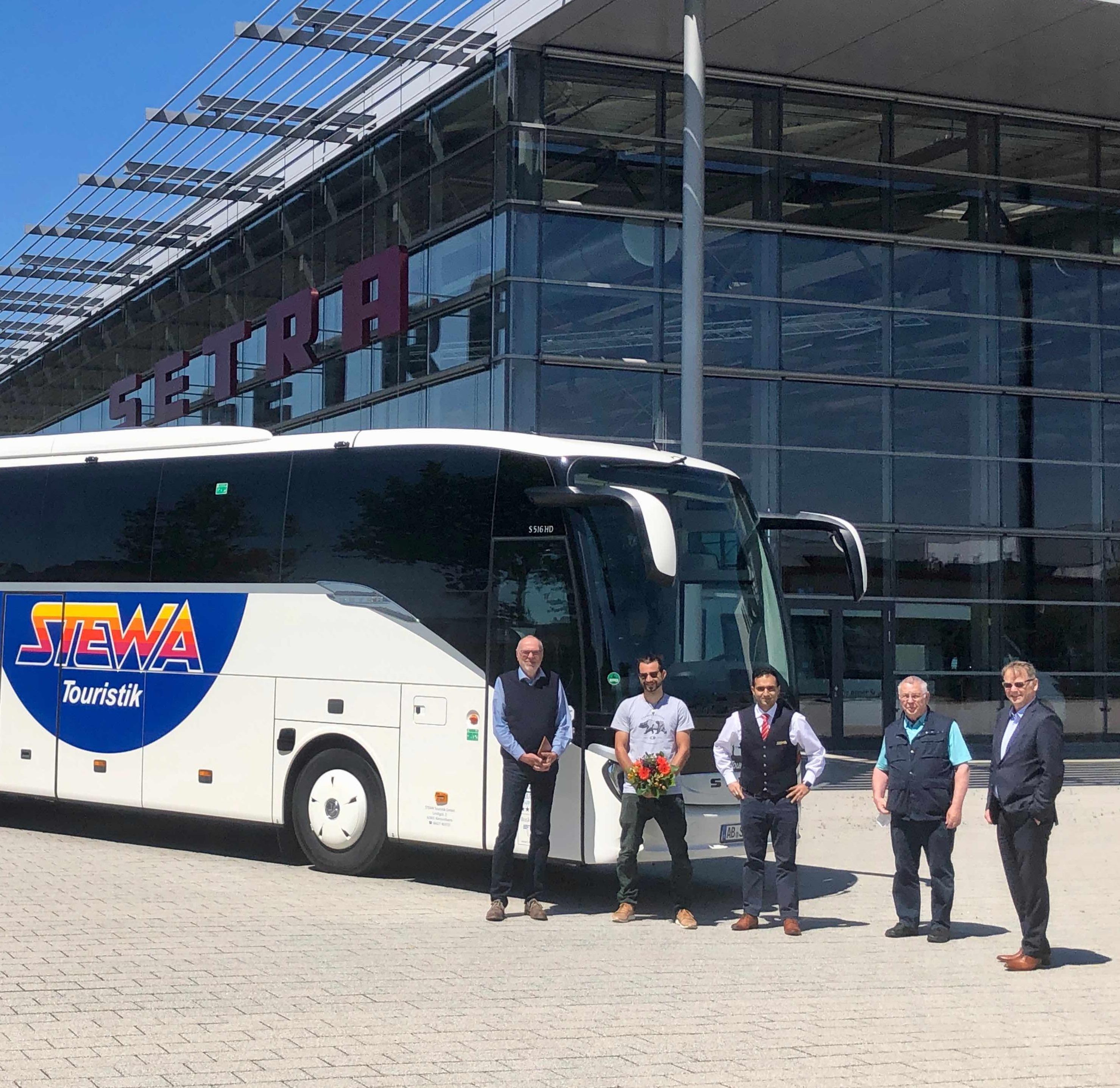 Neuer Reisebus für STEWA Touristik